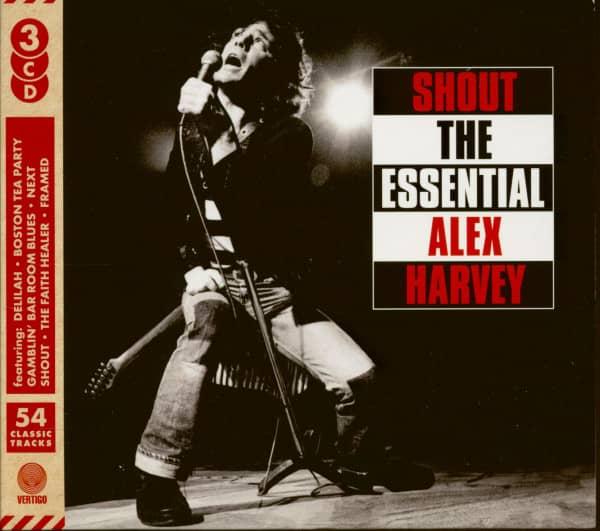 Shout - The Essential Alex Harvey (3-CD)