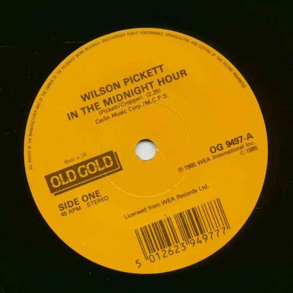 In The Midnight Hour - 634-5789 (7inch, 45rpm, SC)