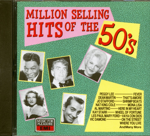 Million Selling Hits Of The 50s (CD)