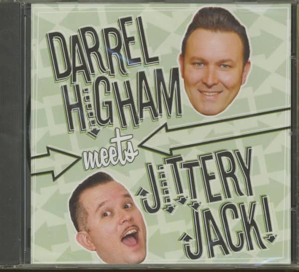Darrel Higham Meets Jittery Jack (CD)
