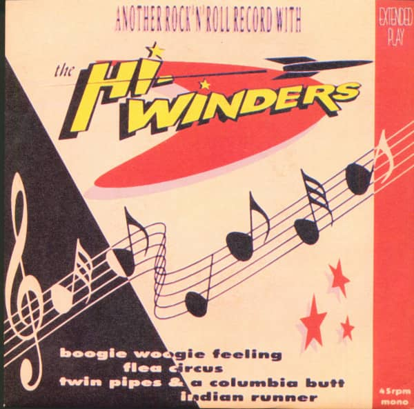 Another Rock'n'Roll Record With The Hi-Winders (EP, 7inch, 45rpm, PS)
