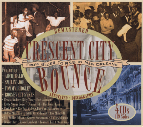 Crescent City Bounce (4-CD Box)