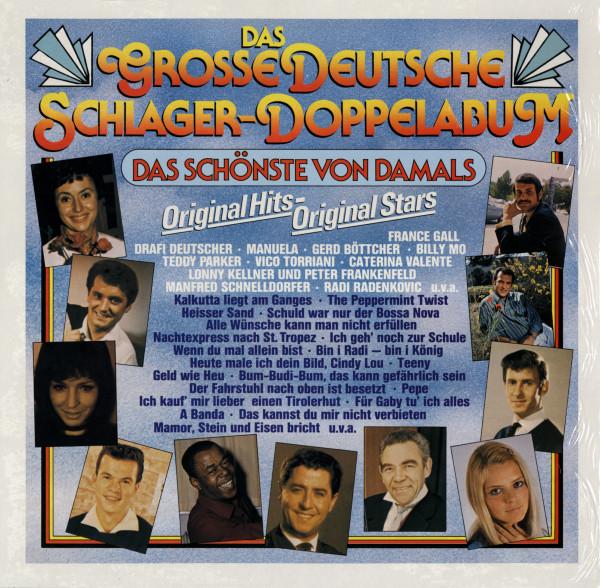 Das Grosse Deutsche Schlager-Doppelalbum (2-LP)