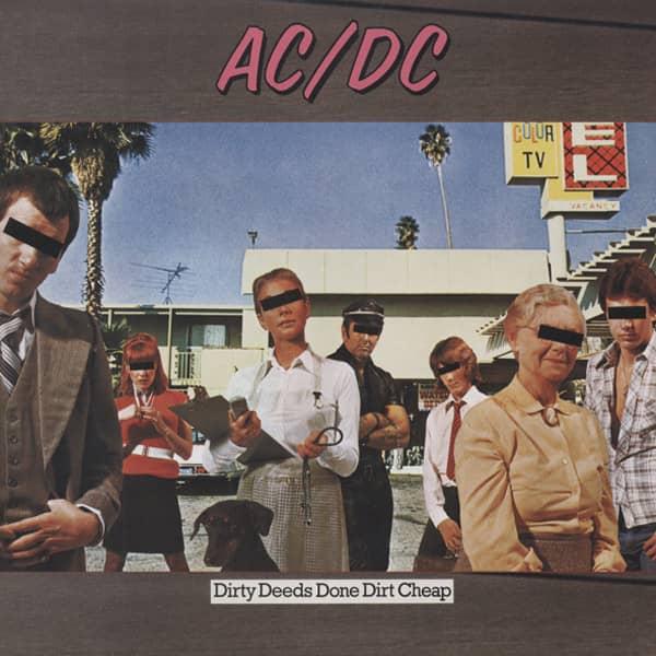 Dirty Deeds Done Dirt Cheap (1976) 180g