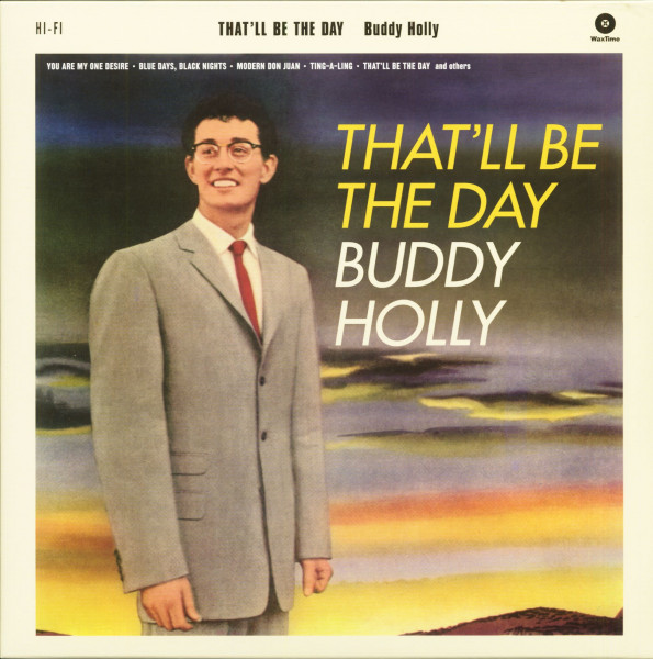 That'll Be The Day (LP, 180g Vinyl, Ltd.)