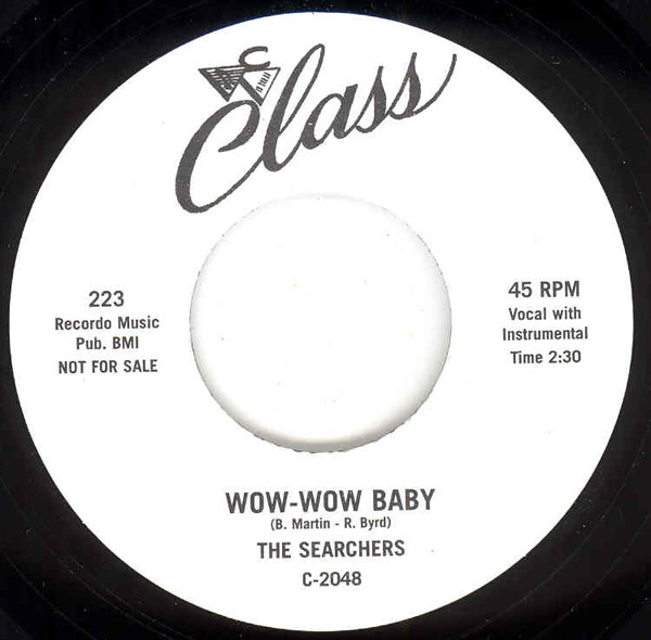 Wow-Wow Baby - Ooo Wee 7inch, 45rpm