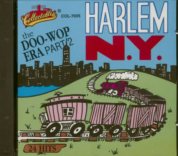 Harlem New York - The Doo-Wop Era Vol.2 (CD)