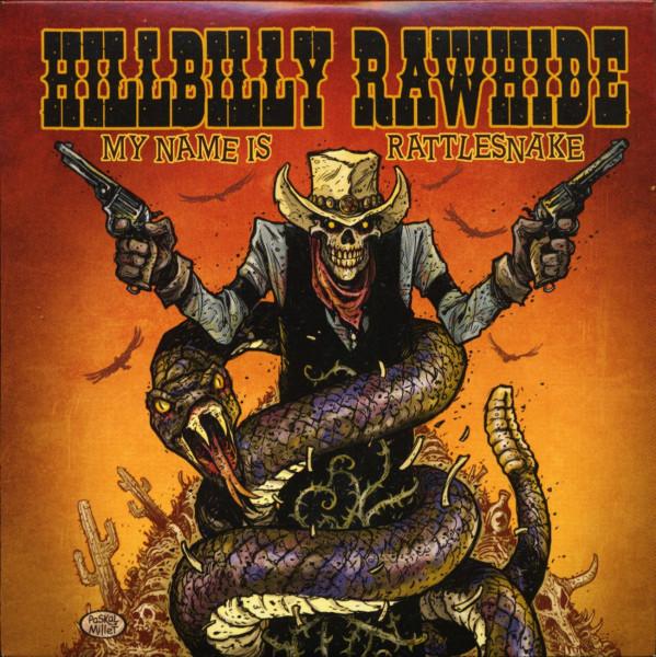 My Name Is Rattlesnake (CD)