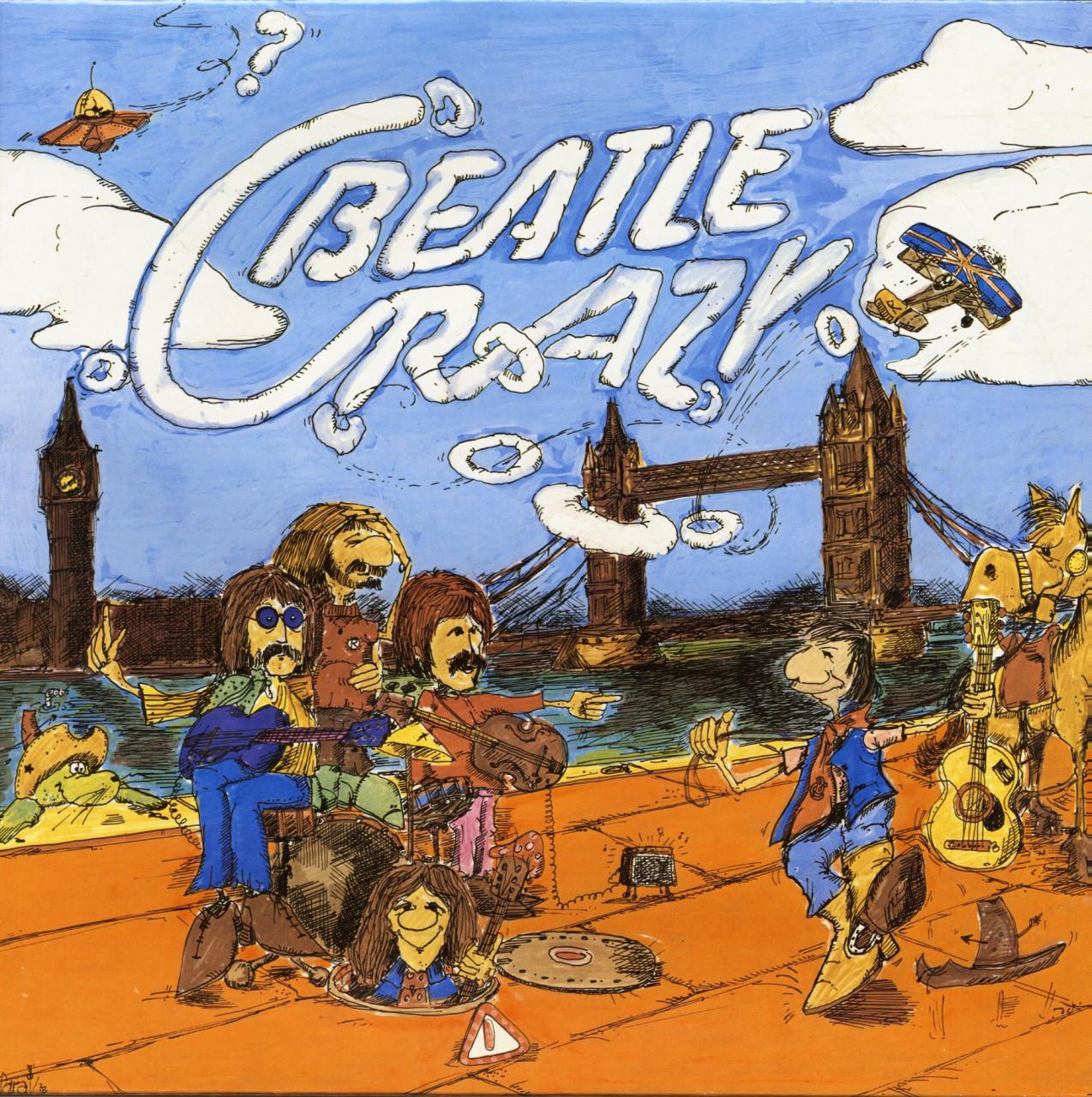 Bill Clifton - Beatle Crazy (LP, Picture Disc)