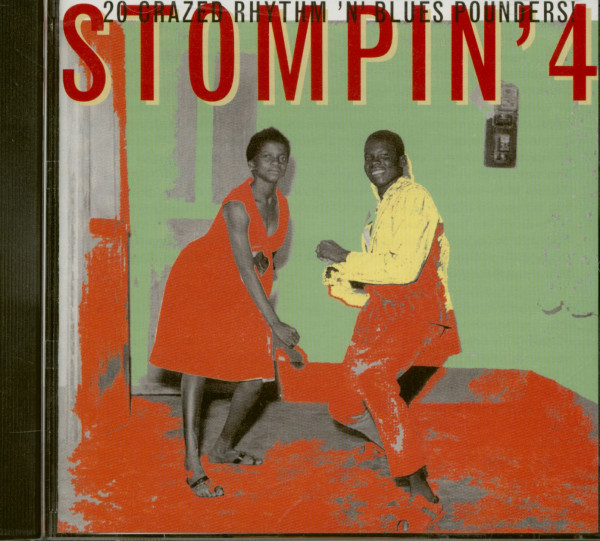 Stompin' Vol.4 (CD)