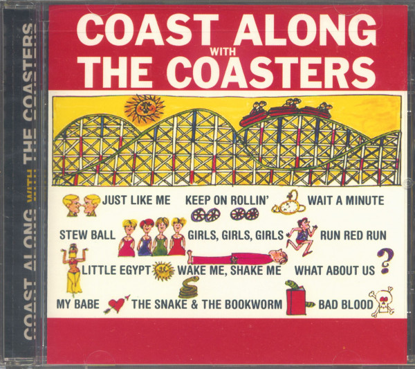 Coast Along With The Coasters (CD)
