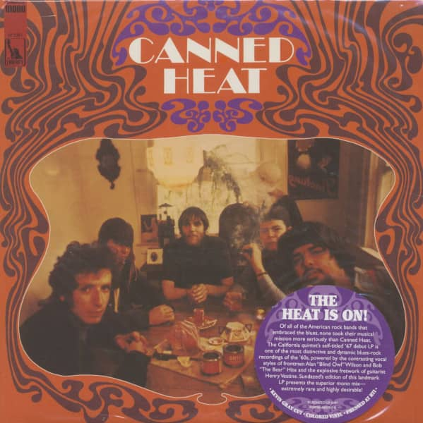 Canned Heat (LP, Colored Vinyl)