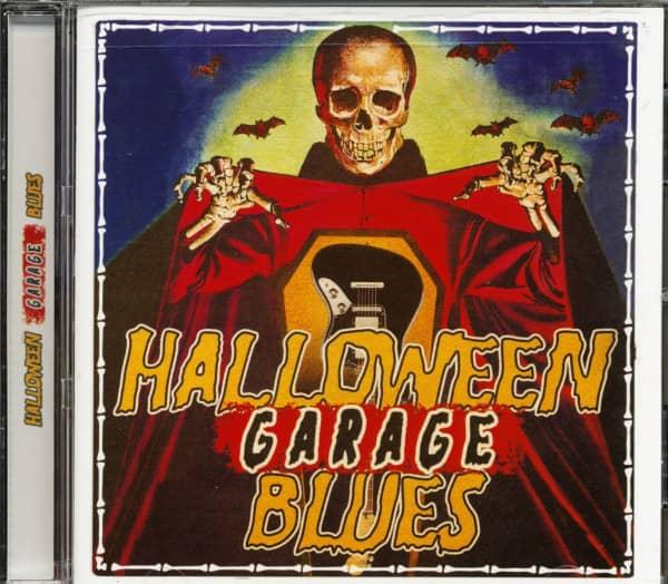 Halloween Garage Blues (CD)