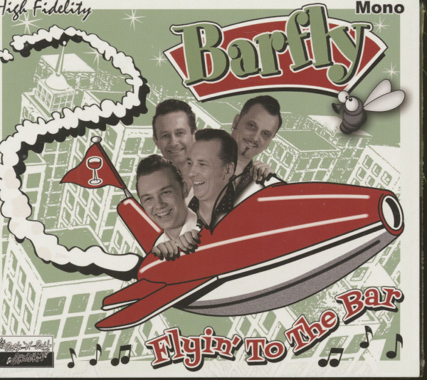 Flyin' To The Bar (CD)