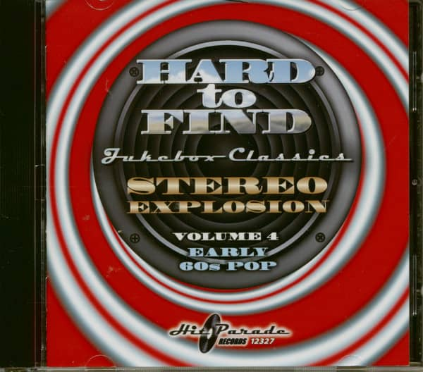 Stereo Explosion Vol.4 - Early 60s Pop Hard To Find Jukebox Classics (CD)