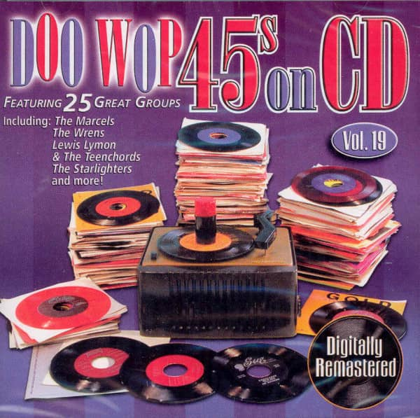 Vol.19, Doo Wop 45s On CD