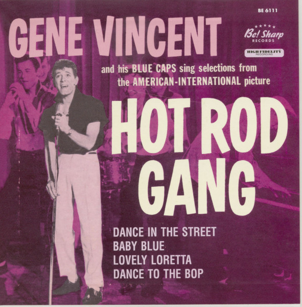 Hot Rod Gang 7inch EP, 45rpm, Picture Sleeve, Ltd.(150)