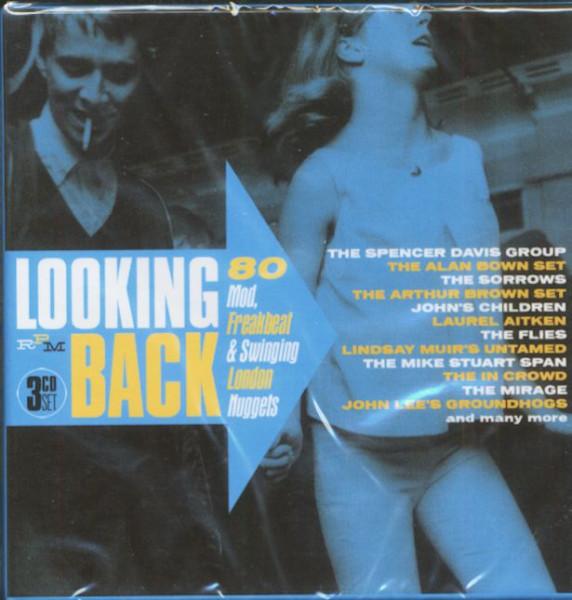 Looking Back - 80 Mod, Freakbeat & Swinging London Nuggets (3-CD)