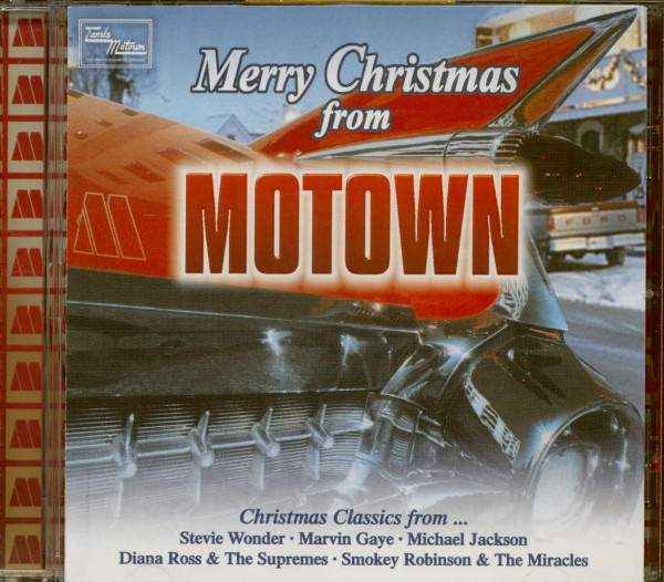 Merry Christmas From Motown (CD)