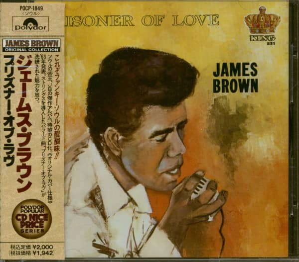 Prisoner Of Love (CD, Japan)