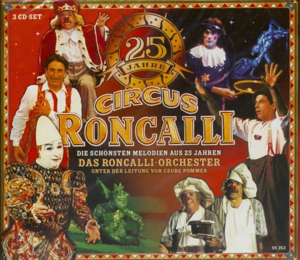 25 Jahre Circus Roncalli (3-CD)