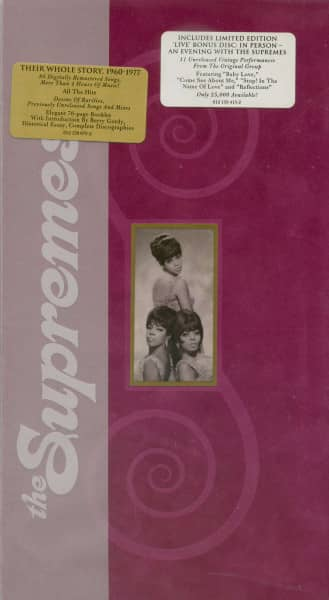 The Supremes - Their Whole Story 1960-1977 (4-CD Box Limited Edition)