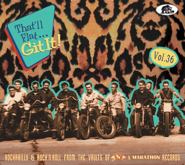 Vol.36 - Rockabilly & Rock 'n' Roll From The Vaults Of TNT Records (CD)