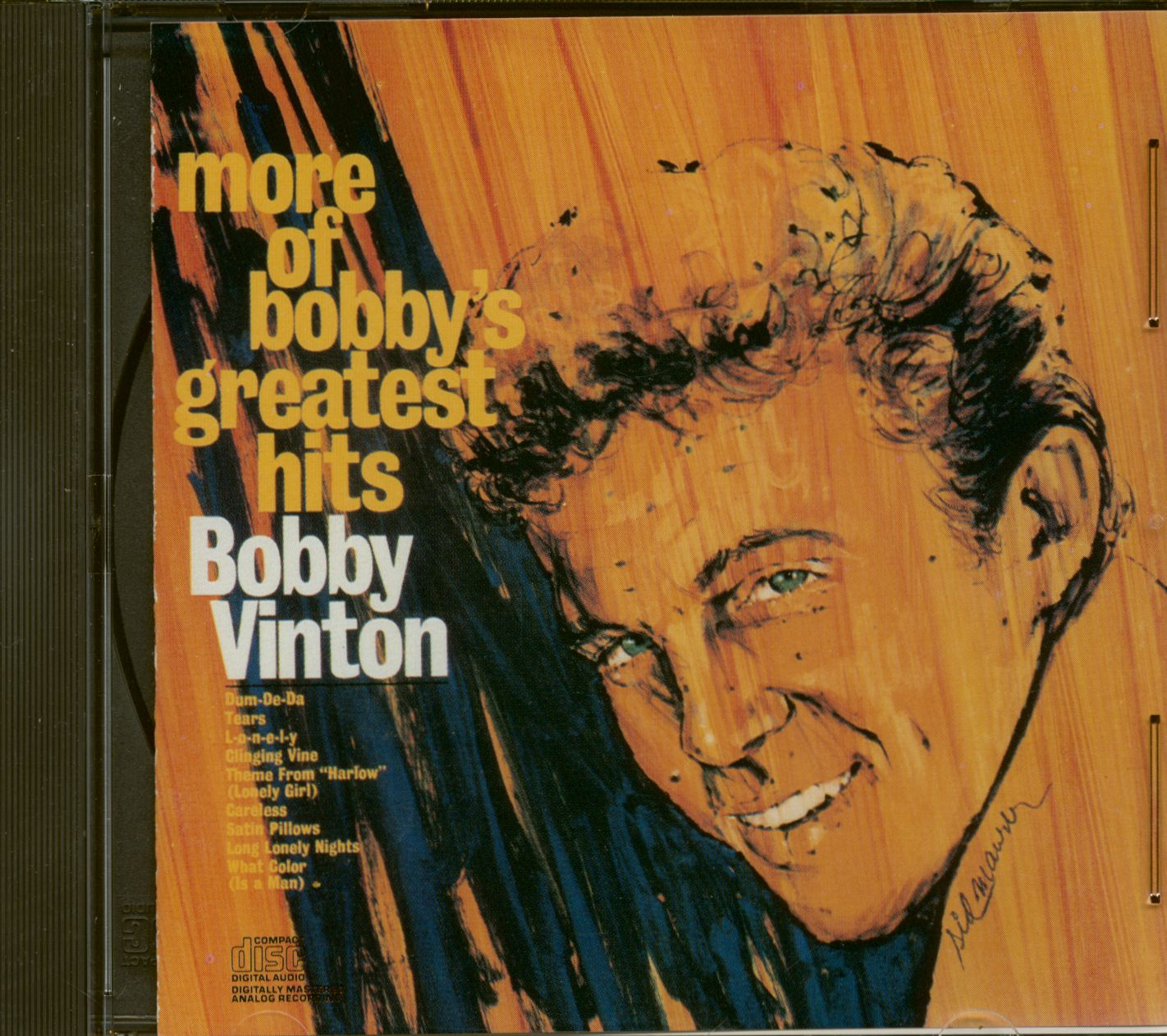 Bobby Vinton Cd More Of Bobby S Greatest Hits Cd Bear