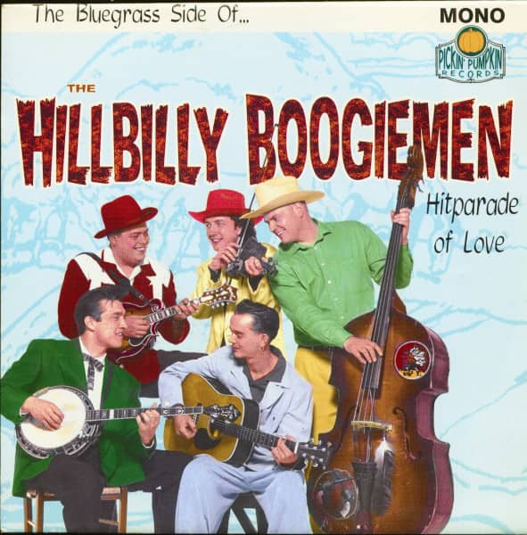 The Bluegrass Side Of The Hillbilly Boogiemen (7inch, 45rpm, PS)