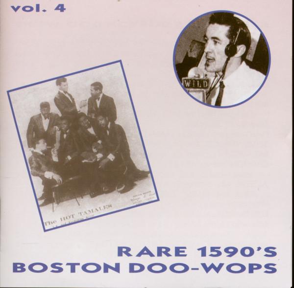 Rare 1950s Boston Doo Wops Vol.4 (CD)