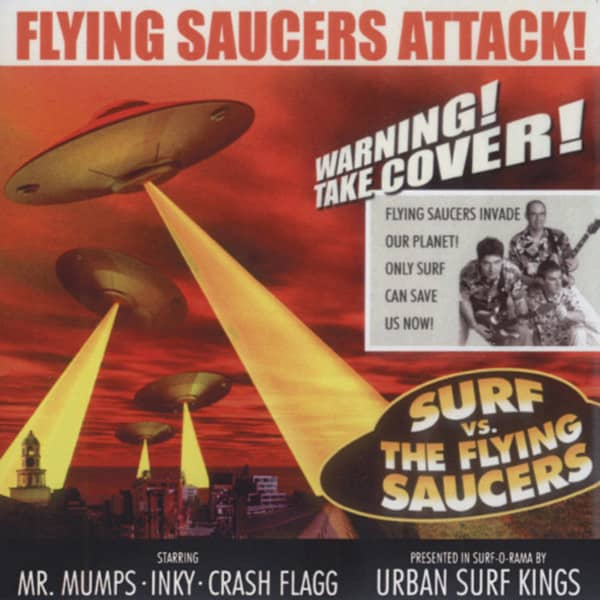 Surf vs. The Flying Daucers