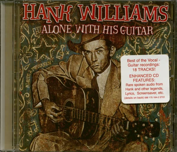 Alone With His Guitar (CD, Enhanced)