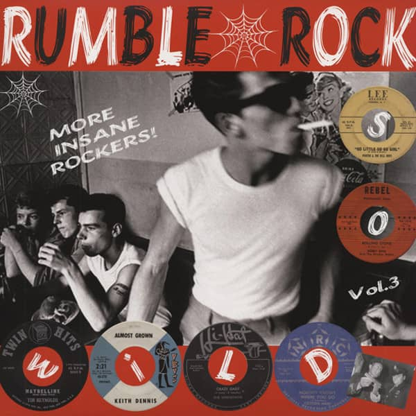 Rumble Rock, Vol.3 - More Insane Rockers (LP)