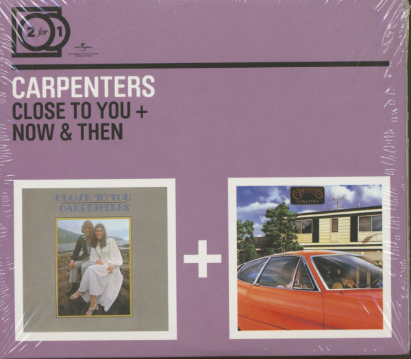 Close To You - Now And Then (CD)