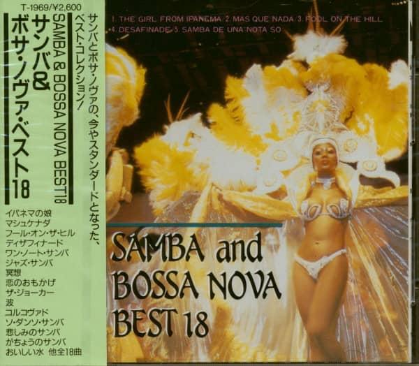 Samba And Bossa Nova Best 18 (CD Japan)