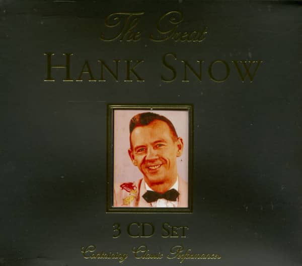 The Great Hank Snow (3-CD)