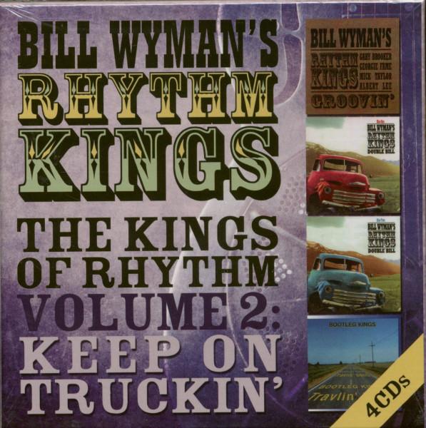 The Kings Of Rhythm Vol.2 - Keep On Truckin (4-CD)