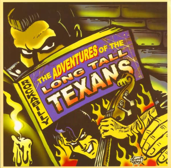 The Adventures Of The Long Tall Texans (LP)
