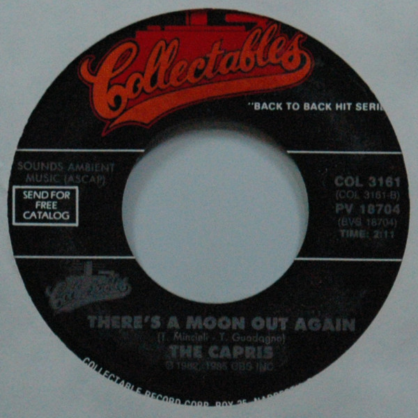 There's A Moon Out Again b-w Morse Code Of Love 7inch, 45rpm
