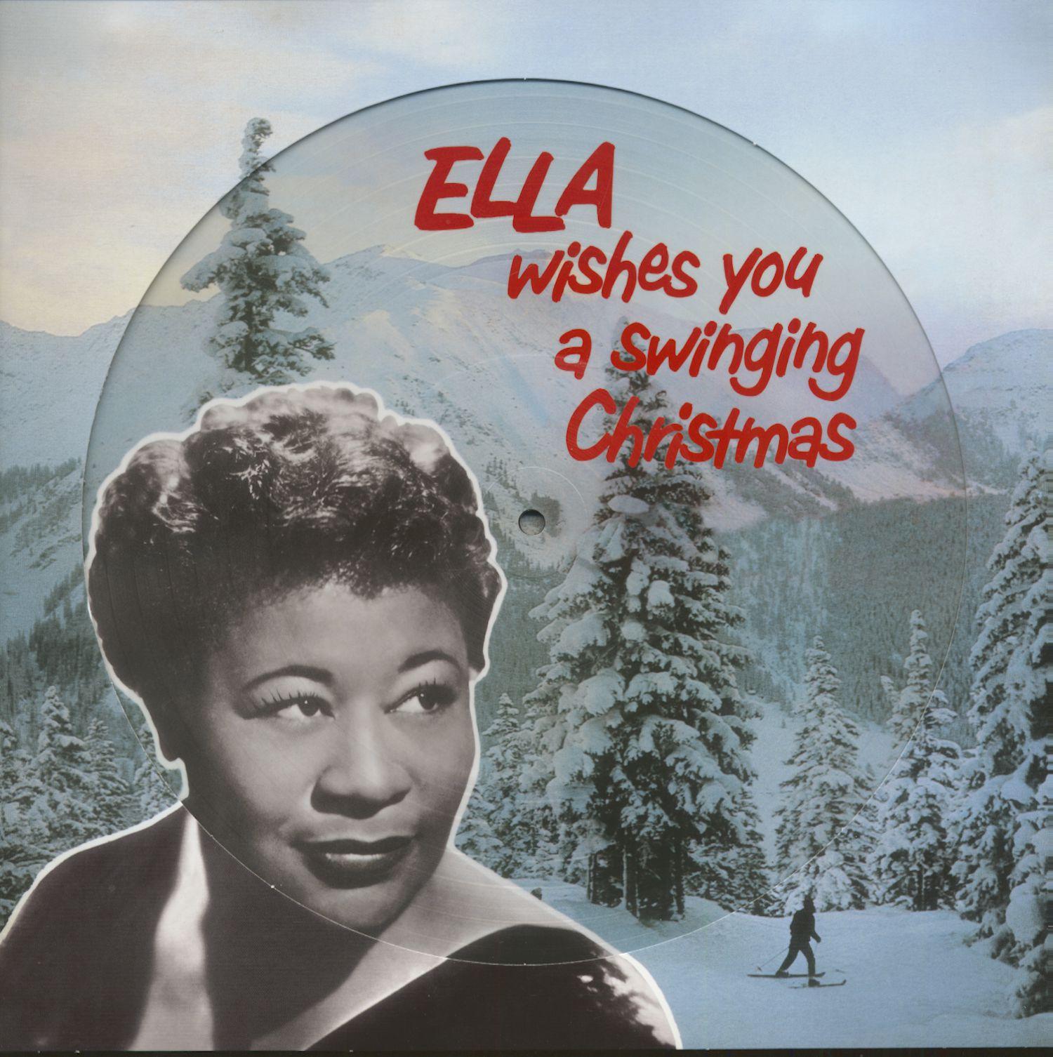 Ella Fitzgerald Lp Ella Wishes You A Swinging Christmas