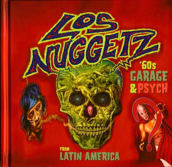 Los Nuggetz '60s Garage & Psych From Latin America (4-CD Digibook)