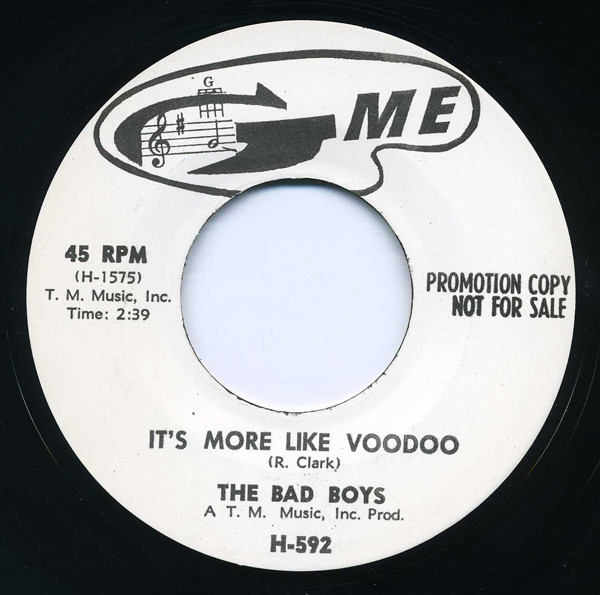 It's More Like Voodoo - Bucket O'Blood 7inch, 45rpm
