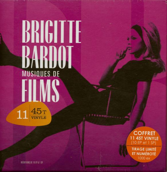 Musiques De Films (11x7inch, 45rpm PS) Box Limited