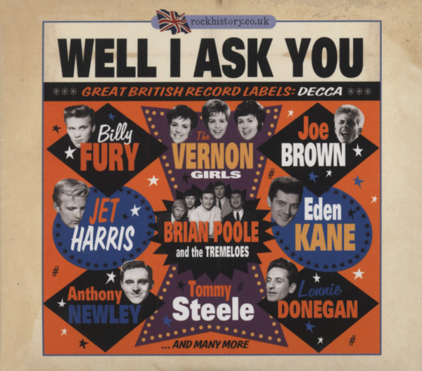 Well I Ask You - Great British Record Labels: Decca (2-CD)