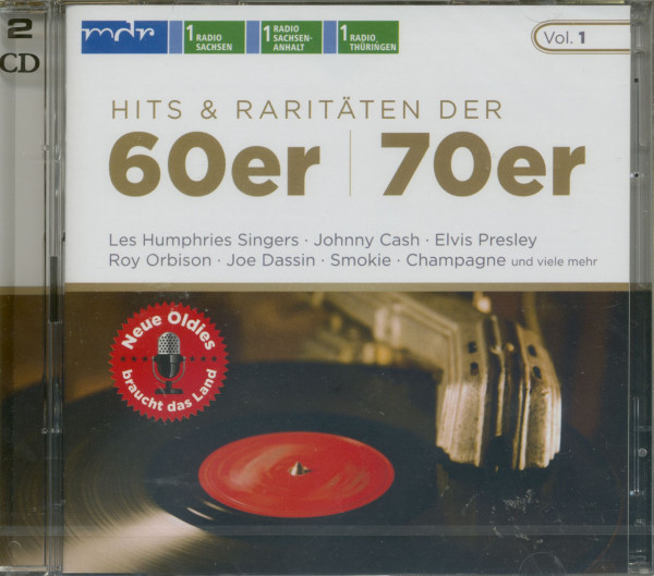 Hits & Raritäten 60er - 70er (2-CD)