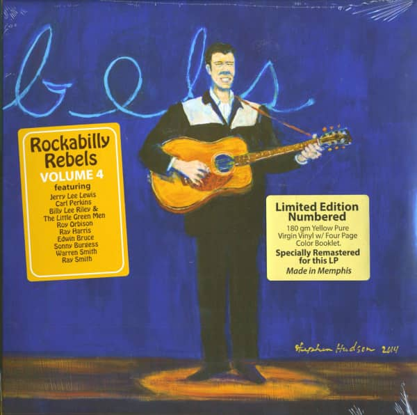 Rockabilly Rebels Vol.4 (LP, 180g, Ltd.)