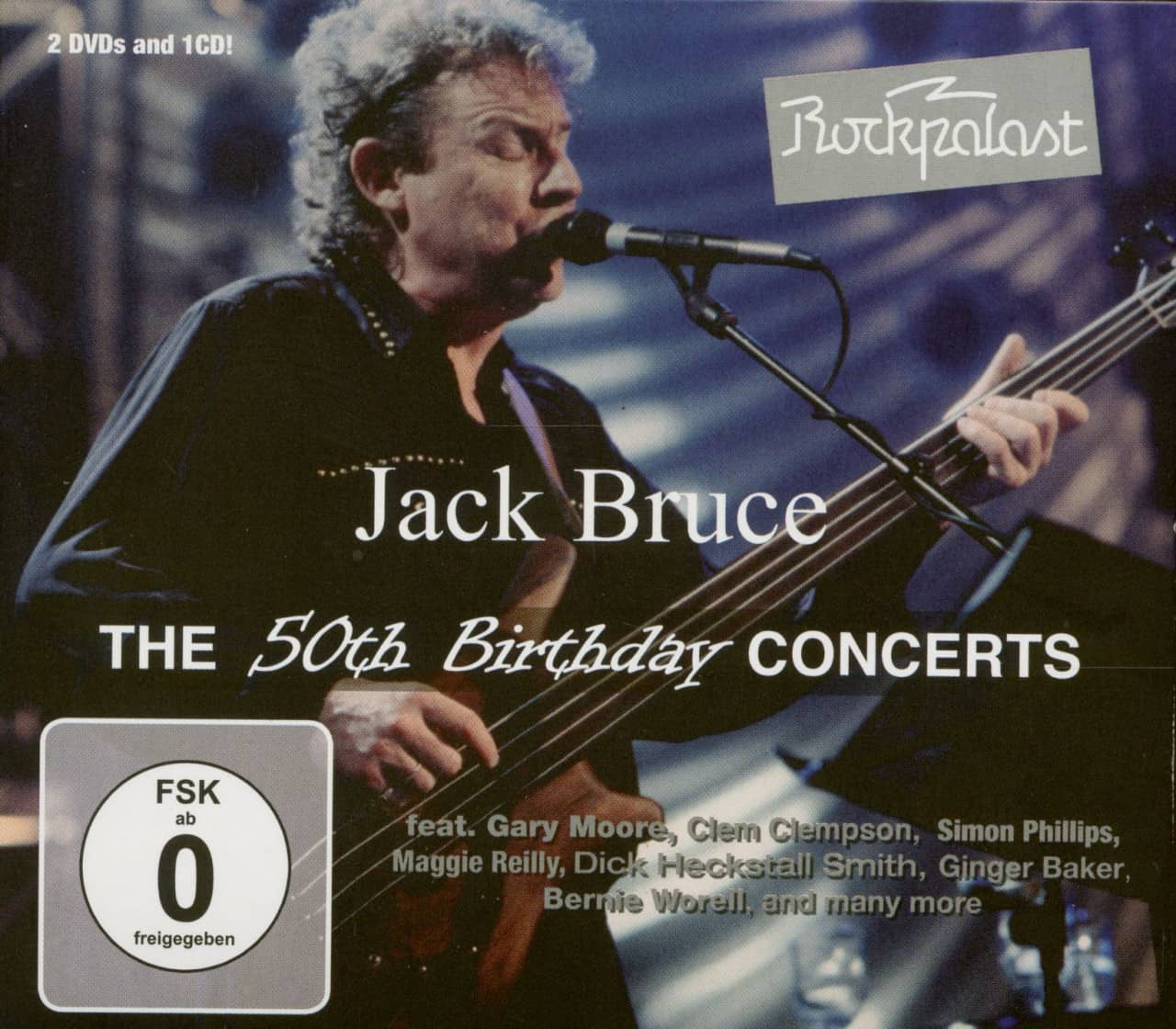 Jack Bruce - The 50th Birthday Concerts (CD & 2-DVD)