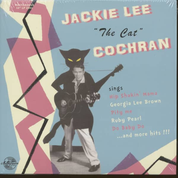 Jackie Lee Cochran Sings (LP, 10inch)