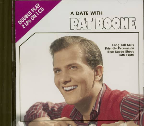 A Date With Pat Boone (CD)