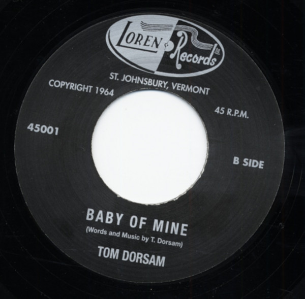 Baby Of Mine b-w Sweet Little Girl *RARE 7inch, 45rpm REPRO*